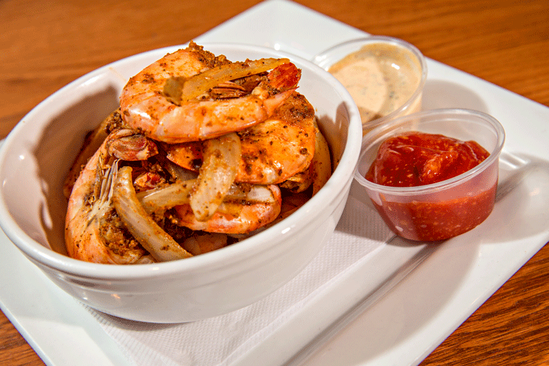 PEEL AND EAT SHRIMP Steamed to order with Old Bay and onions